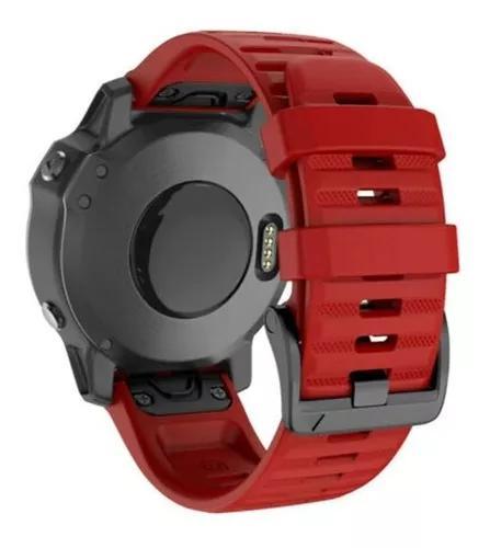 Lançamento pulseira garmin fenix 6x plus engate rapido 26mm