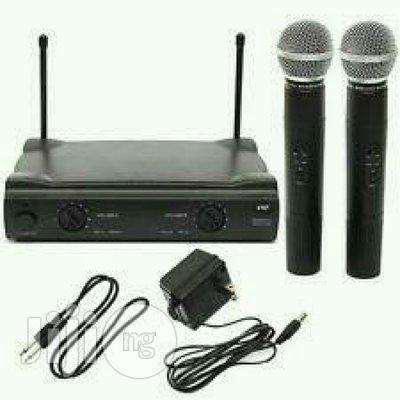 Microfone sem fio shure sm 58 duplo