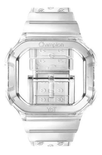 Pulseira original relógio champion yot transparente promo