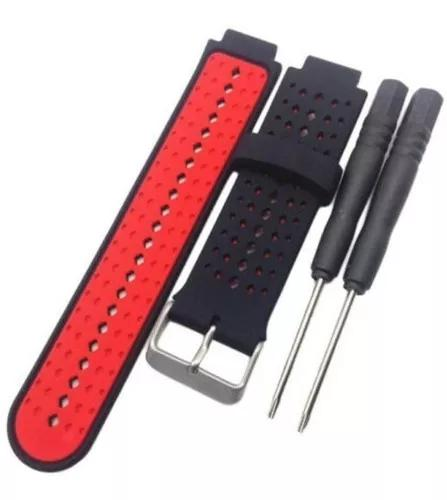 Pulseira silicone forerunner 220 230 235 620 630 735 red02
