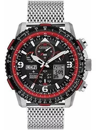 Relógio citizen eco drive red arrows jy8079-76e