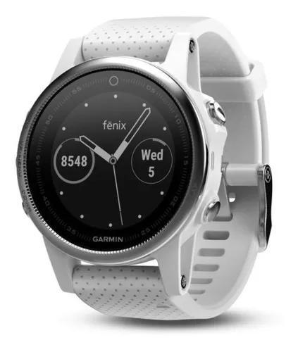 Relógio gps garmin fenix 5s branco 010-01685-00