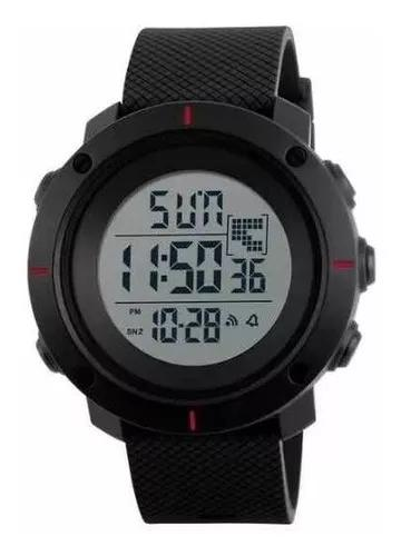 Relógio masculino skmei 1213 digital esportivo prova