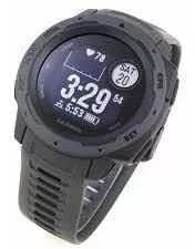 Relógio monitor garmin instinct gps hr top(novo)grafite