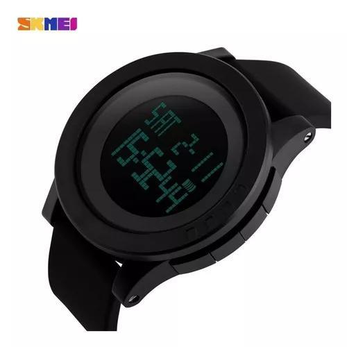 Relógio skmei esportivo original preto digital led