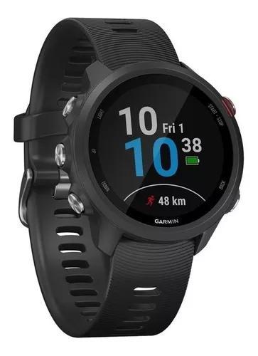 Relógio smartwatch garmin forerunner 245 music + fone buds