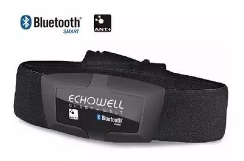Sensor monitor cardíaco dmh30 echowell bluetooth ant+