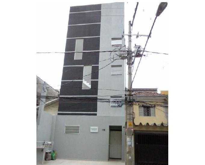 Vila matilde locação studio de 20 m² a 50 metros do