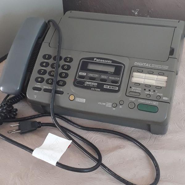 Aparelho de fax colecionador