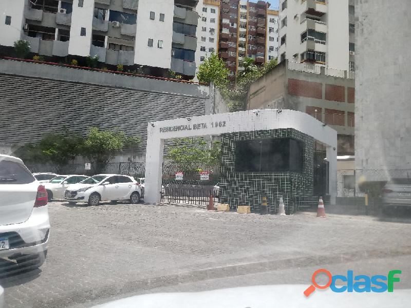 Apartamento de 1 quarto com ar condicionado na avenida acm na pituba