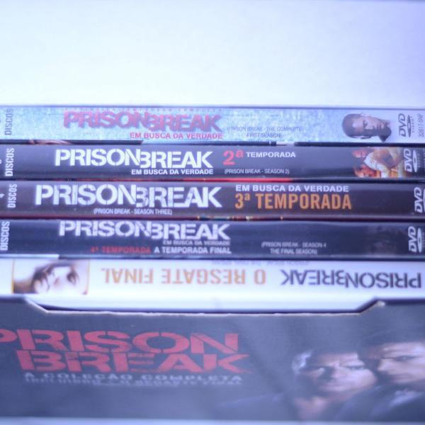 Coleção completa series prison breack