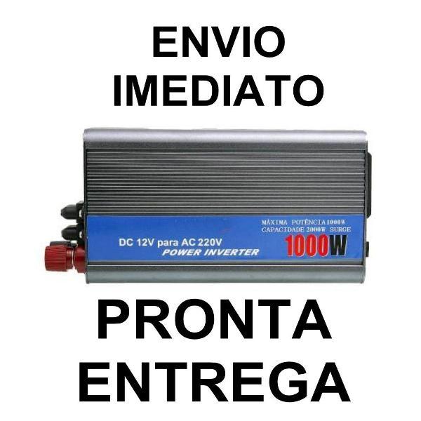 Inversor 1000w onda modifica12v /220v - power inverter
