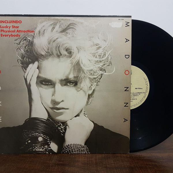 Lp vinil madonna 1983 (primeiro álbum)