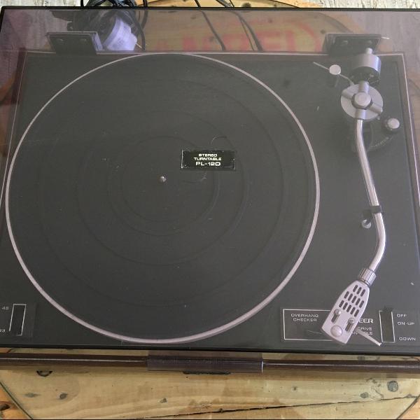 Toca discos pionner pl12d