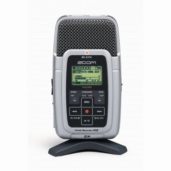 Zoom h2 gravador de áudio profissional portátil