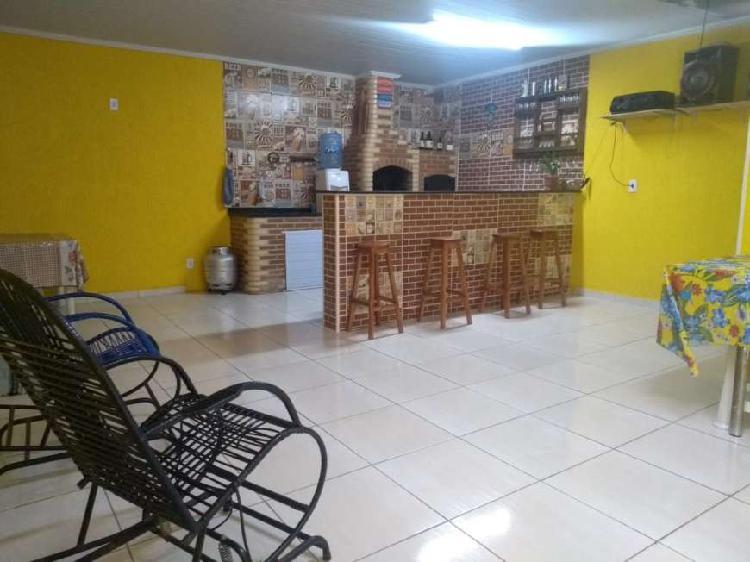 Campo grande - inhoaíba - casa linear reformada com 3