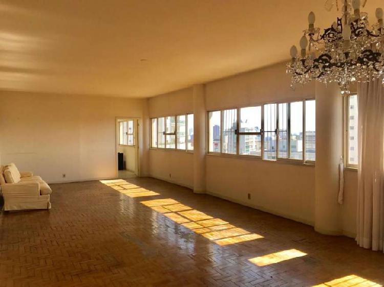 Belo apartamento com linda vista em higienópolis