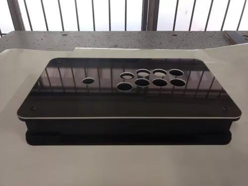 Caixa para controle arcade tgm mod1 + acrílico 2mm