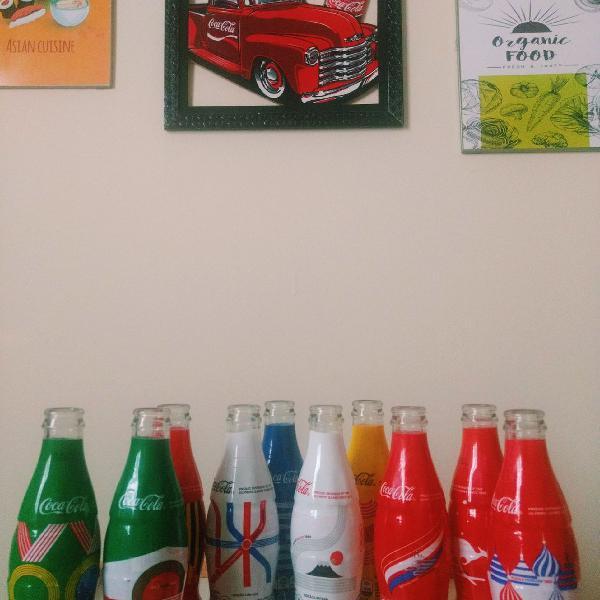Coleção coca-cola copa do mundo