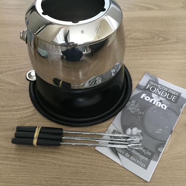Conjunto fondue forma