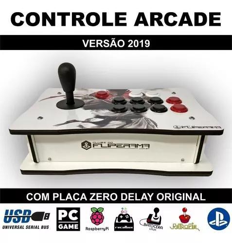 Controle arcade zero delay original pc ps3 ps4 - versão