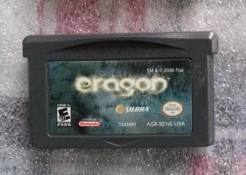 Eragon game boy advance jogo cartucho original fita nintendo