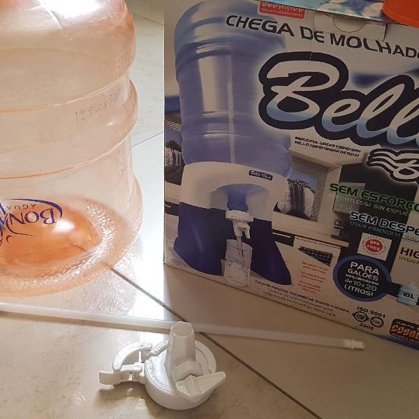 Filtro + galão de água