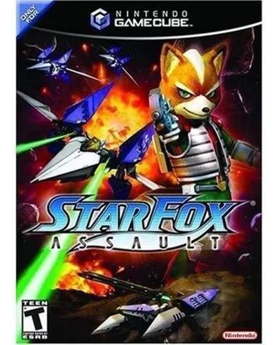 Jogo nintendo game cube star fox assault deslacrado