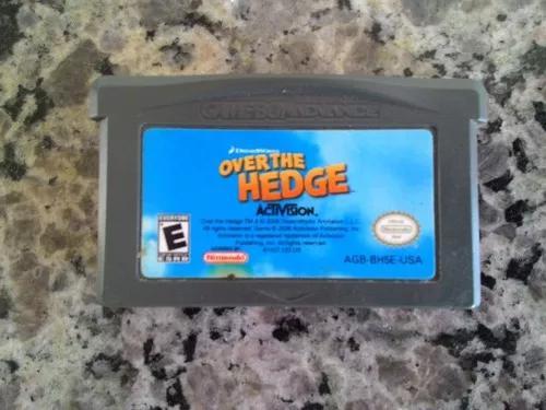 Jogo over the hedge do game boy advance / gba (original)