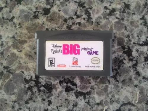 Jogo piglet big game do game boy advance / gba (original)