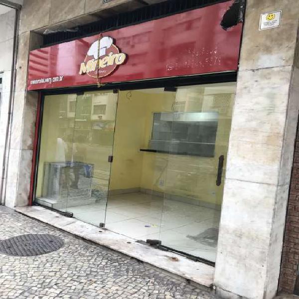 Loja para aluguel rua barat ribeiro - copacabana - rio de