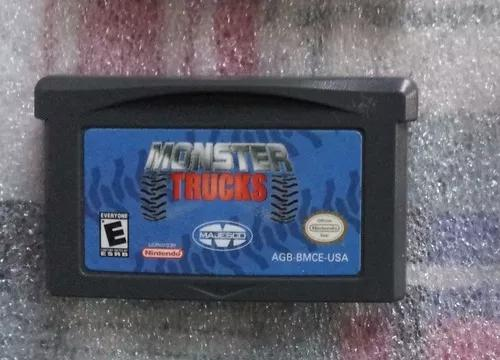 Monster trucks - game boy advance cartucho original fita gba