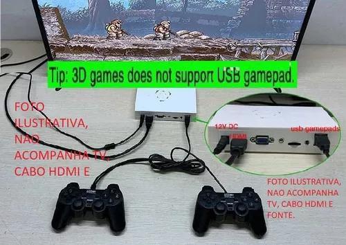 Pandora box xii 12 + joysticks duplo + fonte (ligue na tv)