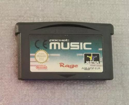 Pocket music - game boy advance jogo original cartucho gba