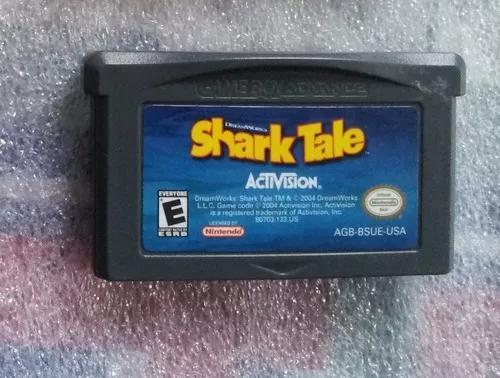 Shark tale game boy advance cartucho original jogo fita gba