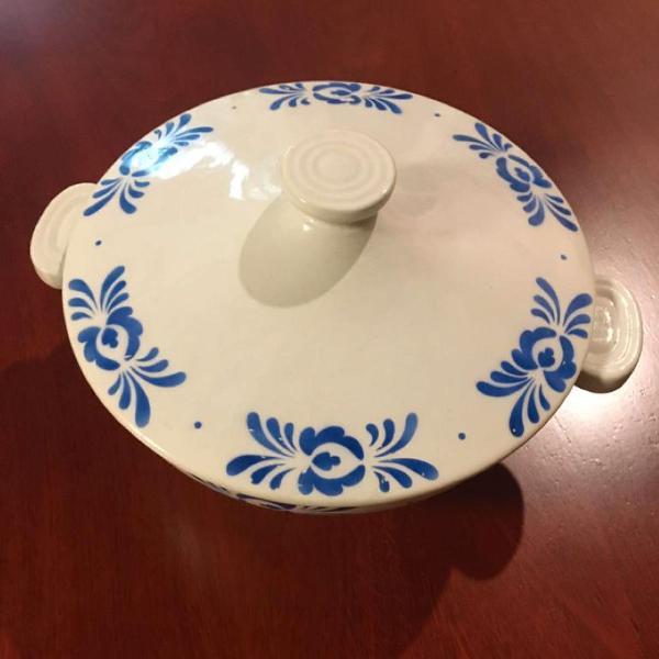 Sopeira porcelana feita na bélgica