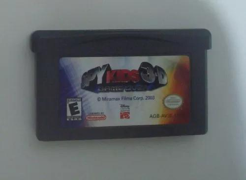 Spy kids 3d game over game boy advance jogo original nintend