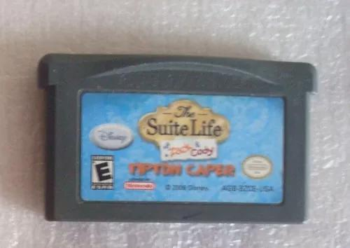 Suite life tipton caper game boy advance jogo cart original