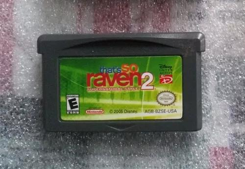 Thats so raven 2 game boy advance cartucho original fita gba