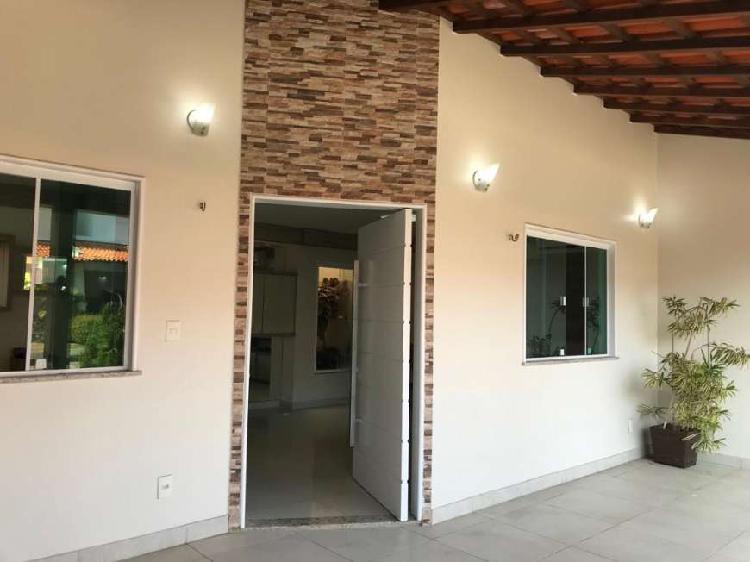 Vende casa de condomínio no quintas do calhau, 270m2, 3