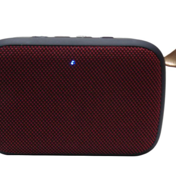 Caixinha de som linda com longa duração de bateria