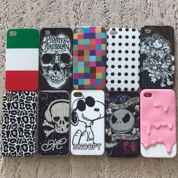 Capinha iphone 4/4s diversos