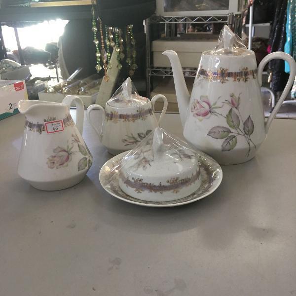 Conjunto chá porcelana