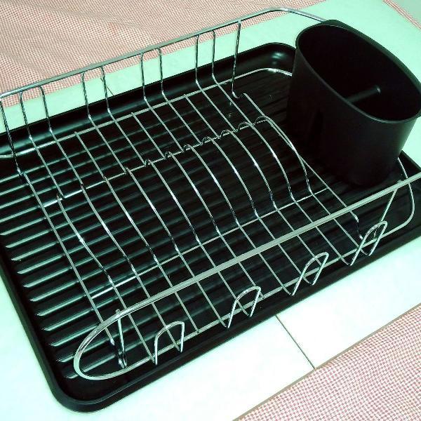 Escorredor de louças pratos e copos