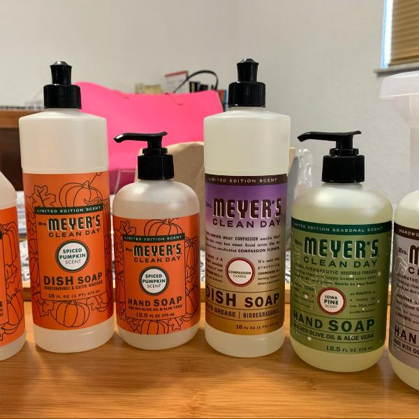 Kit 6 produtos mrs. meyer's