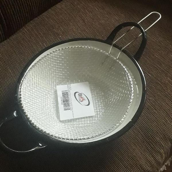 Kit fritadeira c/ cesto aramado