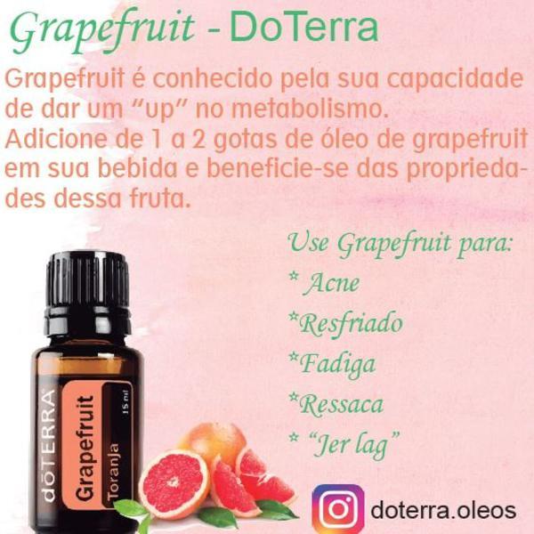 Leo essencial grapefruit- doterra