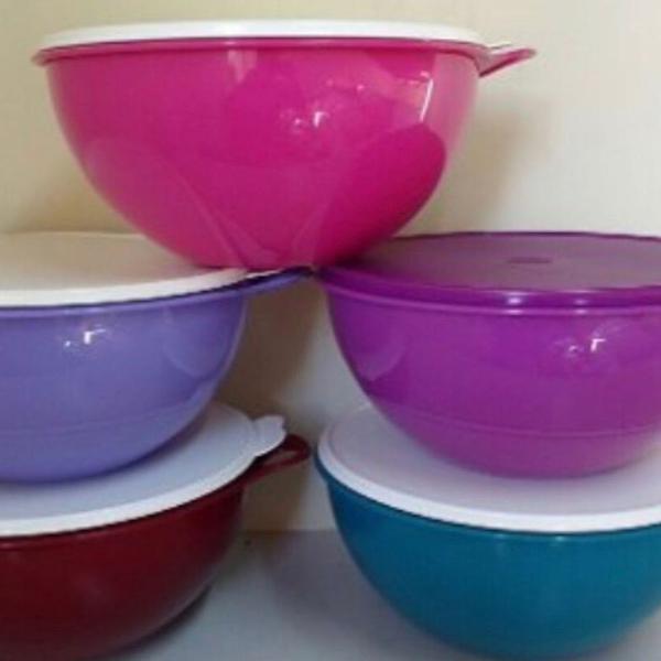 Maxi criativa tupperware 7,8 litros rosa