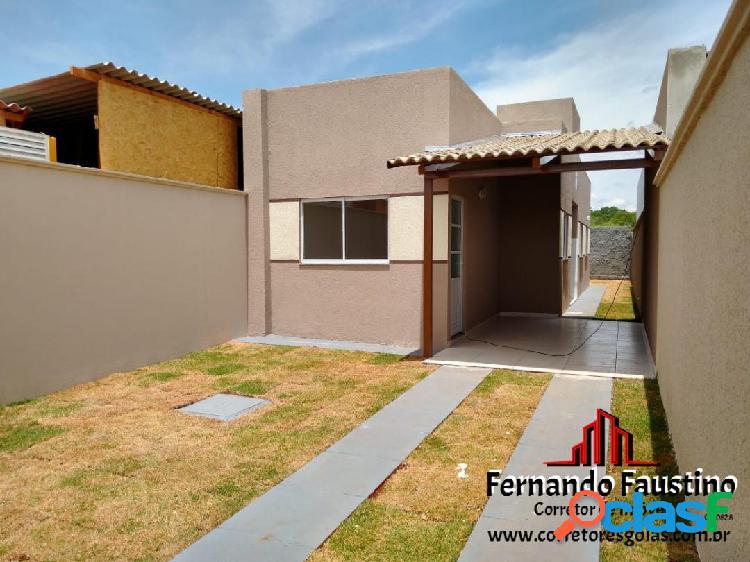 Casas 02 Qts sendo 01 Suite Senador Canedo Goiás R$ 140 mil