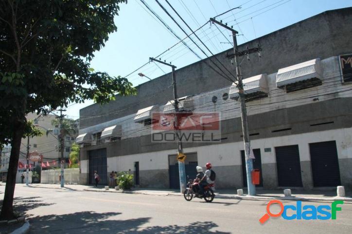 Locação - galpão de 1.442,65 m² - nova cidade/sg/rj